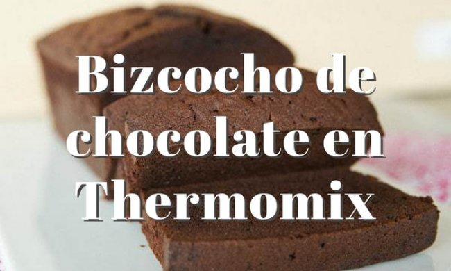 Bizcocho de chocolate Thermomix